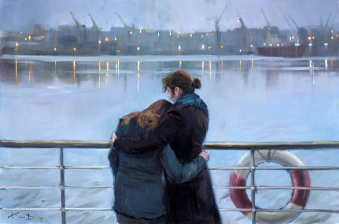 The Passage by Kevin Day - Original Painting on Stretched Canvas